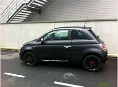 Gespot Fiat 500 Matt Black Spots GroenLichtbe