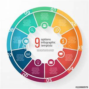 U0026quot Vector Business Pie Chart Template For Graphs  Charts