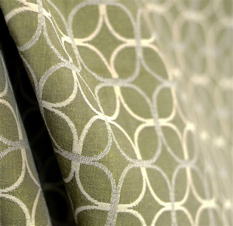 green contemporary upholstery fabric with a geometric