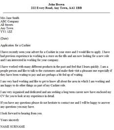 Cashier Cover Letter Exles Cashier Cover Letter Exle Icover Org Uk