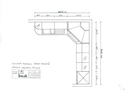 piano cottura ad angolo misure misure cucine ad angolo con gallery of vendita mobili