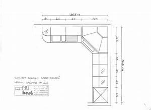 Cucina ad angolo misure design casa creativa e mobili for Cucina ad angolo misure