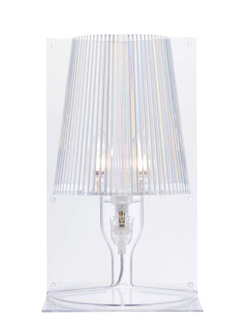 lampada da tavolo   kartell trasparente   design