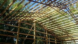 6039 steel truss clear span agricultural building pole for 40 ft metal trusses