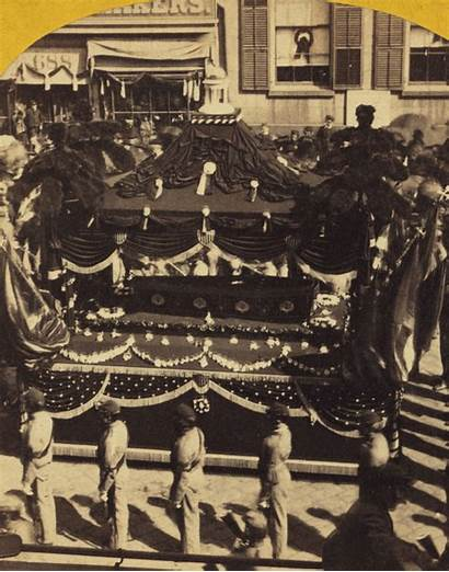 Abraham Lincoln Funeral Procession Casket President Views