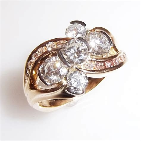 new 50th wedding anniversary rings with custom made a 50th wedding anniversary gift of custom