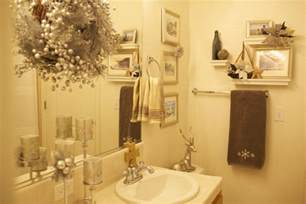 bathroom christmas decoration easy to apply ideas this year on budget bathroom decorating