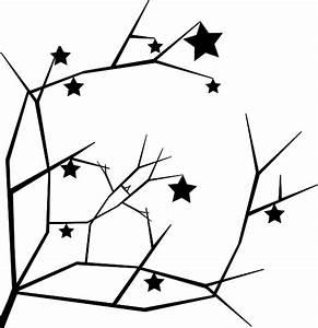 Tree Stars Silhouette Clip Art at Clker.com - vector clip ...