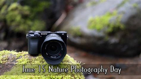 Nature Photography Day 2018  National Days