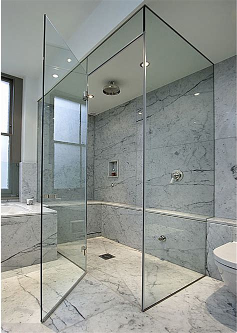 Shower In The Bathroom by Frameless Glass Shower Doors 5 Bath Decors