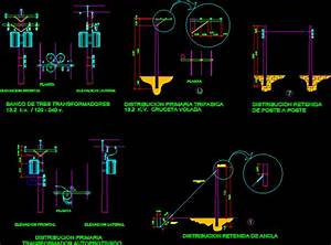 Bank Of 3 Ct Dwg Detail For Autocad  U2022 Designscad