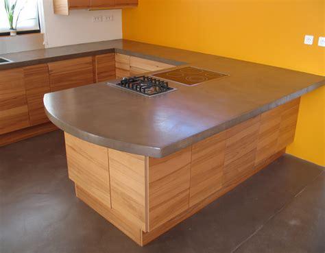 beton ciré pour plan de travail cuisine beton cir pour cuisine vier en bton cir la cuisine