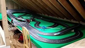 Carrera Slot Car Track  U0026quot  New Layout  U0026quot