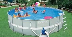 Hors Sol Piscine Intex : une piscine intex hors sol dans votre jardin ~ Dailycaller-alerts.com Idées de Décoration