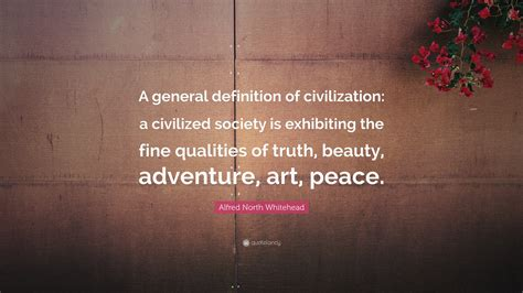 alfred north whitehead quote  general definition