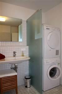 Wanne Für Waschmaschine : kleines bad mit dusche und waschmaschine ~ Michelbontemps.com Haus und Dekorationen