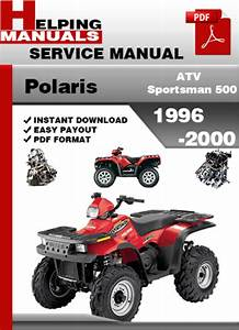 Polaris Atv Sportsman 500 1996