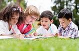 Happy school kids coloring   Safari Kids Learning Center