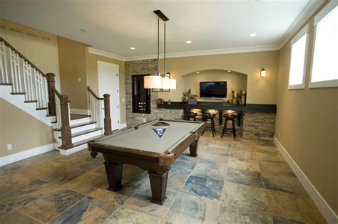 Homearama 2011  Traditional  Basement  Cincinnati By