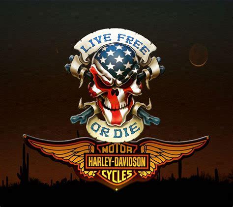 Harley Davidson Screensaver by Harley Davidson Logo Wallpapers Wallpaper Cave