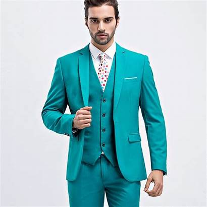 Suit Suits Mens Formal Piece Wear Pant