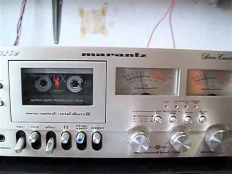 marantz cassette deck marantz 5025