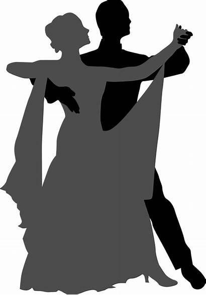 Dancing Ballroom Silhouette Dance Dancer Couple Social