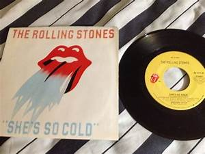 Rolling Stones - She's So Cold 45 With Picture Sleeve ...