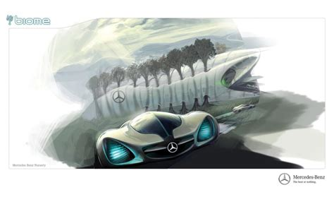 mercedes benz biome in action los angeles auto show unveils eco cars of the future