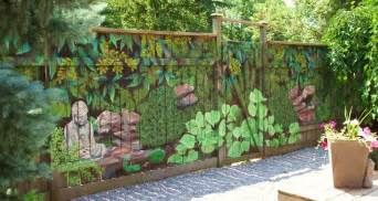 great diy ideas fence murals 171 interior design files
