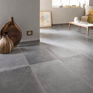 Carrelage sol et mur anthracite effet beton harlem l40 x for Les idees de ma maison 9 carrelage sol et mur taupe effet beton harlem l 60 x l 60