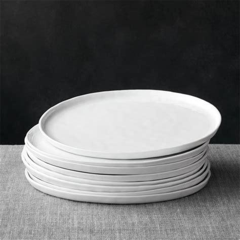 mercer dinner plates set   crate  barrel