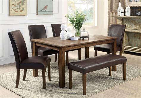 Big & Small Dining Room Sets With Bench Seating