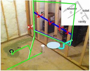 Trying To Turn Basement Roughed-in 1  2 Bath Into A Full Bath