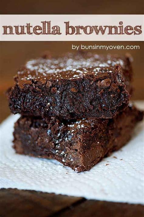 recette de brownies au pot 1000 ideas about brownies au nutella on nutella recette ricardo and dessert anglais