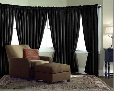 velvet curtain panel drape 5w x 8h black home theater