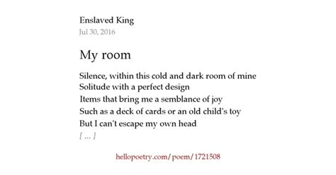 room  wordforged majesty  poetry