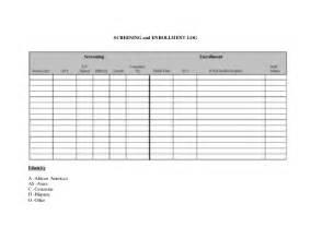 Study Excel Template Microsoft Word Sop Recruitment Of Participants Research Unit Doc