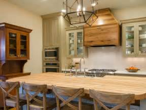 kitchen island farm table photos hgtv