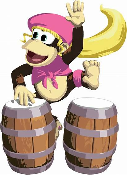 Kong Dixie Donkey Konga Clipart Dead Games