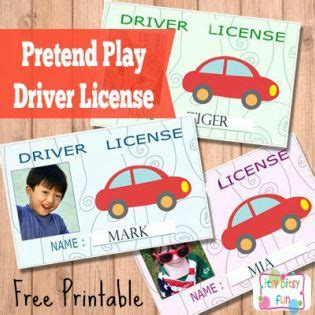 free printable licenses and id cards for begin the 848 | c9f070765252ea6c41577fd060fa2839