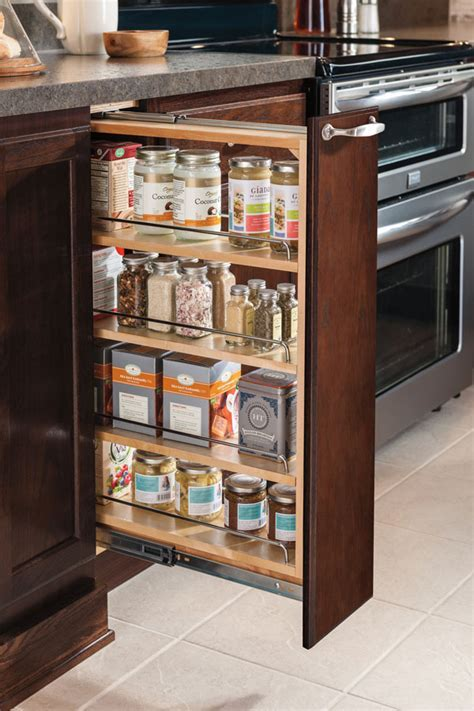 6 Inch Base Pullout Cabinet   Aristokraft Cabinetry