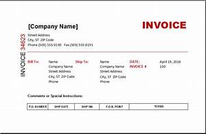 invoice templates excel invoice templates With where to buy invoices