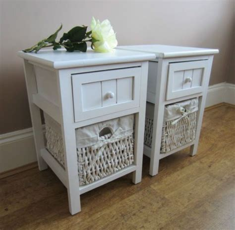 shabby chic bedside tables uk l table bedside table ls and vintage shabby chic on pinterest