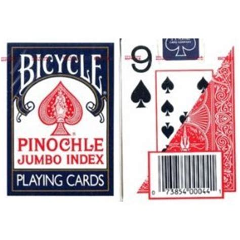 Free Pinochle Deck by Bicycle Pinochle Jumbo Index Cards 12