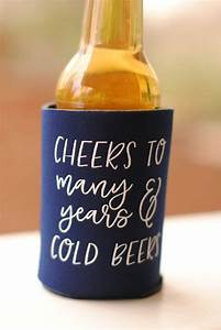 Wedding beer bottle koozies mini bridal for Beer koozie wedding favors