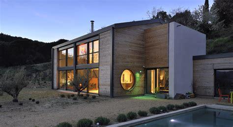 maison en bois drome constructeur maison drome maison moderne