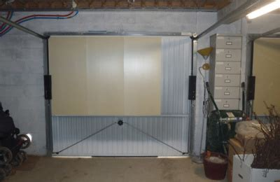 isolation porte de garage bas de porte