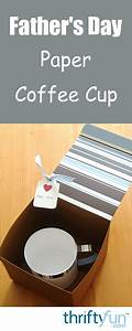 Father U0026 39 S Day Paper Coffee Cup Craft