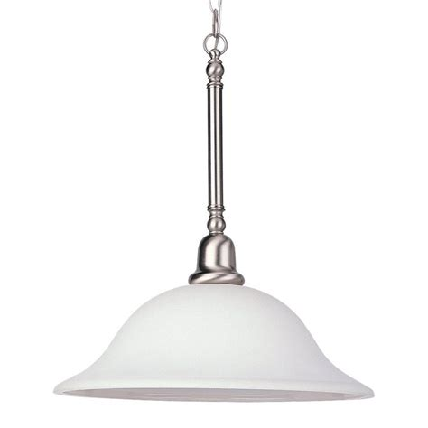shop sea gull lighting sussex 15 75 in brushed nickel